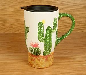 Tuscon Cactus Travel Mug