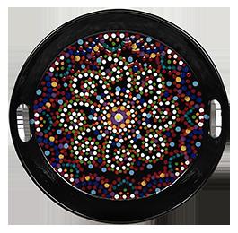 Tucson Mosaic Mandala Tray