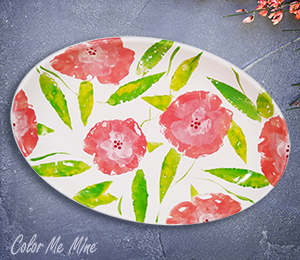 Tucson Floral Paper Stamping