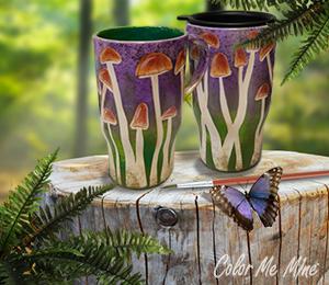 Tucson Mushroom Mugs