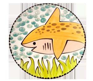 Tucson Happy Shark Plate