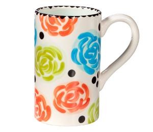 Tucson Simple Floral Mug