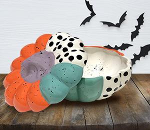 Tucson Color Block Pumpkin