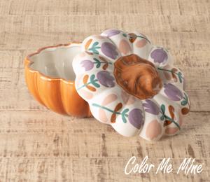 Tucson Floral Pumpkin Box