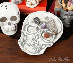 Tucson Vintage Skull Plate