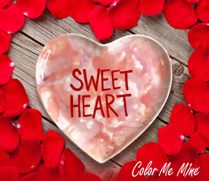Tucson Candy Heart Plate