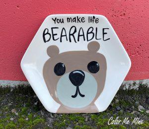Tucson Bearable Plate