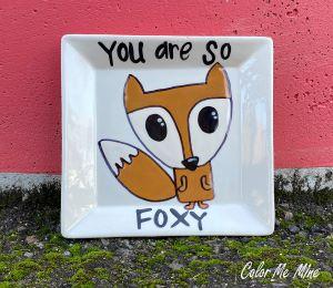 Tucson Fox Plate