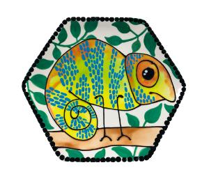 Tucson Chameleon Plate