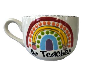 Tucson Polka Dot Rainbow Mug